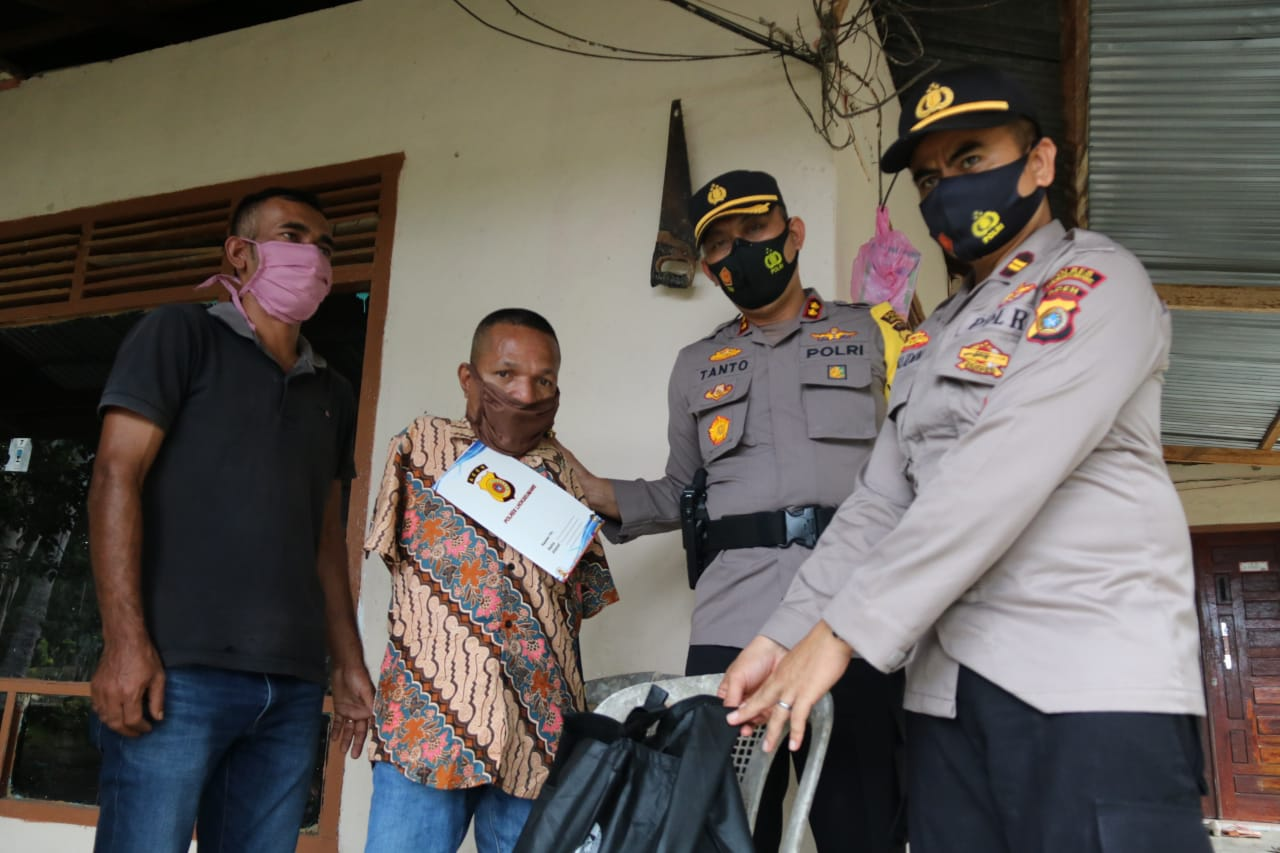 Kapolres Lhokseumawe Bawa Kue Surga ke Pedalaman Aceh Utara