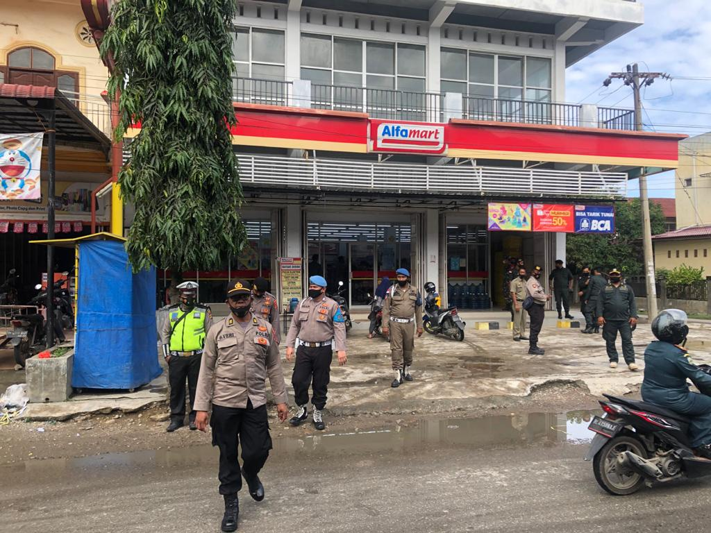 Tim Gabungan Tegur Tiga Pelanggar Prokes di Kota Lhokseumawe