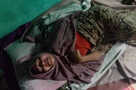 Seorang Ibu Rumah Tangga Asal Aceh Timur terbaring sejak 9 Tahun Yang lalu