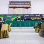 Dandim 0104/Atim Pimpin Sidang Pankar Jabatan Bintara dan Tamtama Ta.2021