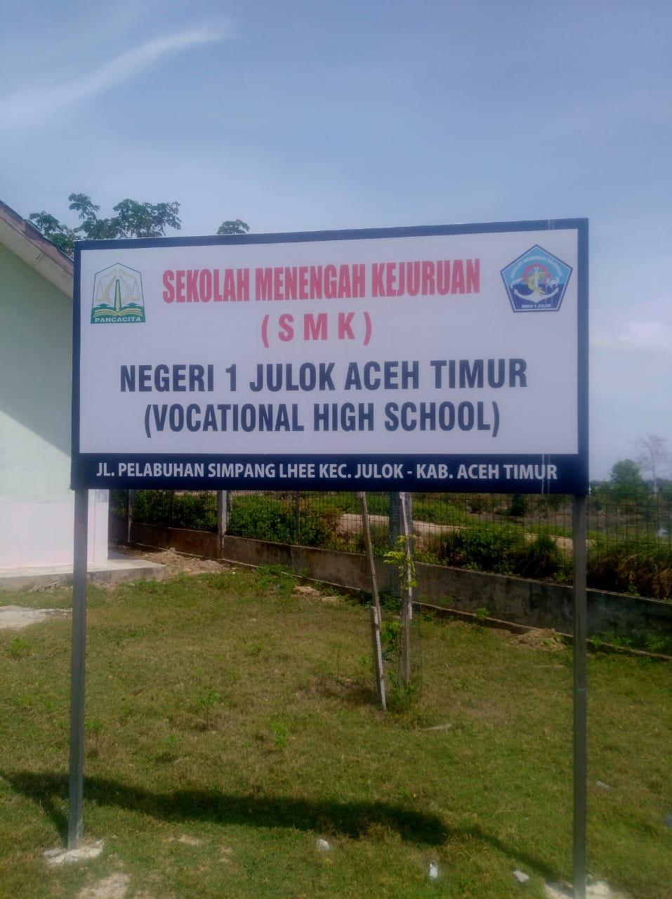 """"""" Evaluasi Sikula Bereh, Cabdin Aceh Timur Telah Kunjungi SMKN 1 Julok """""""