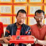 Tukang Becak di Tangkap Polisi Karena Kantongi Sabu 0.10 gram.