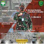 Dandim 0104/Atim, Tips dan Trik Lulus Seleksi Menjadi Personel TNI AD
