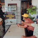 Sosialisasi PPKM Mikro, Babinsa di 23/Lgst Masuk ke Pedesaan