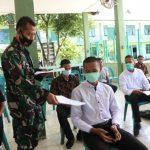 Para Calon Pendaftar Prajurit TNI-AD Terima Pembekalan Dan Pengarahan Dandim 0104/Atim