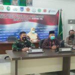 Dandim 0104/Atim Bersama Forkopimda Kota Langsa Ikuti Vidcon Dalam Rangka Rakor Kepala Daerah se-Indonesia