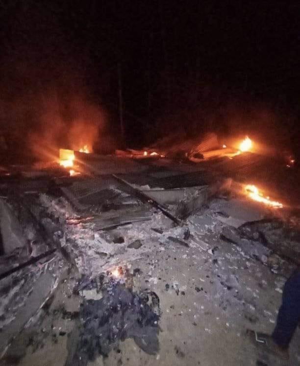 Ditinggal Shalat Tarawih, Rumah Dhuafa di Lhokseumawe Ludes Terbakar