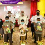 """"""" Direktur PTPN Bersama (IKBI) Serahkan Bantuan Untuk 85 Orang Anak Yatim """""""