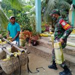 Babinsa Dampingi Petani Memasarkan Hasil Panen, Dari Kios Terdekat Sampai Ke Pasar Tradisional