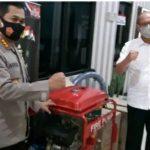 """"""" Ahmad Gusmar Harahap Telah Menyerahkan Tiga Mesin Pemadam Karhutla Bantuan PTPN1 Pada Polda Aceh """""""