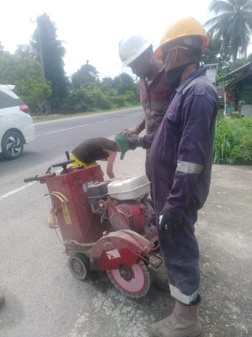 """ Dana Lebih Condong Ke Covid 19, Jalan Negara Aceh Ditambal Sulam """