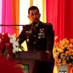 Dandim 0104/Atim Bersama Unsur Forkopimda Kota Langsa Ikuti Upacara HUT TNI ke-76 Secara Virtual